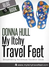 Book Review: &quot;My Itchy Travel Feet&quot; by Donna L. Hull