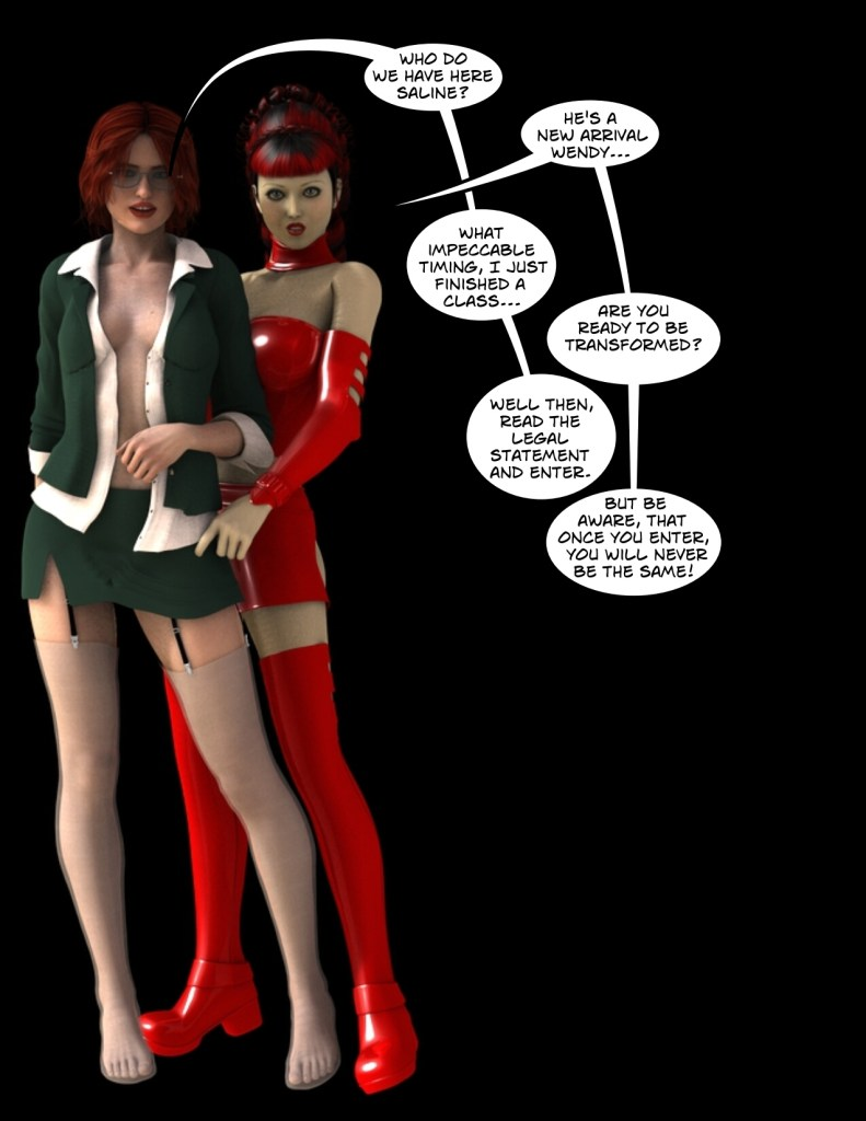 tg comics, sissy comics, shemale comics and forced feminization comics