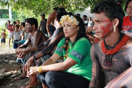 yawalapiti women wrestling