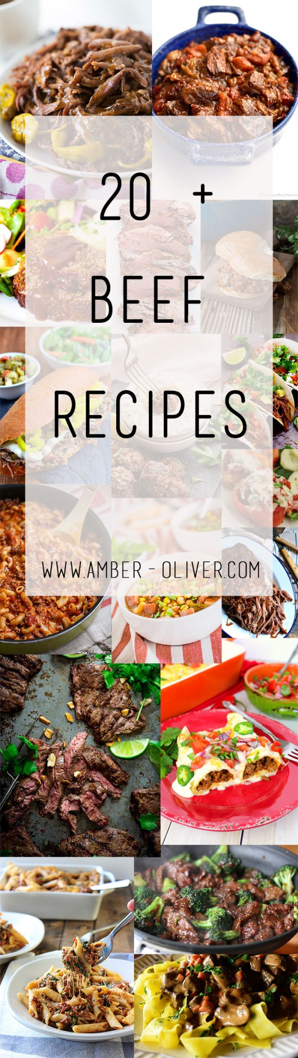 Beef Recipes Round Up