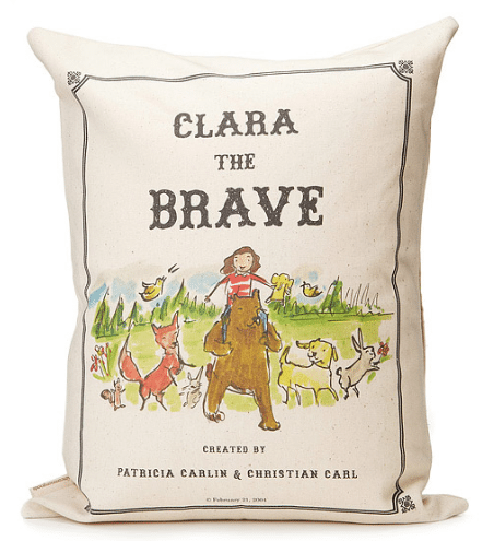 personalized storybook pillow brave - - custom pillow ideas