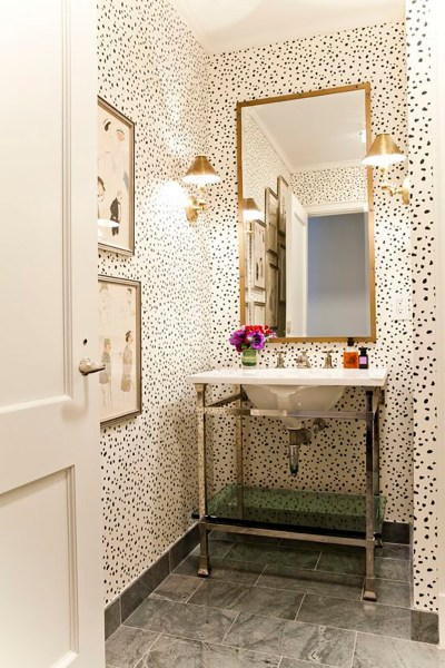 Small Powder Room Ideas – Amber Interiors