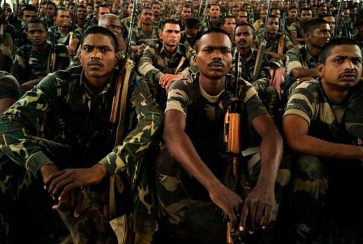 An SPO military police training camp.