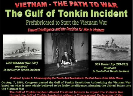 719 Gulf of Tonkin Incident False Flag Operations