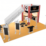 Double-Deck Truss Trade Show Displays