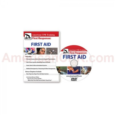 American CPR Training™ | AEHS First Response: The First Aid Video, English (DVD) - American CPR ...