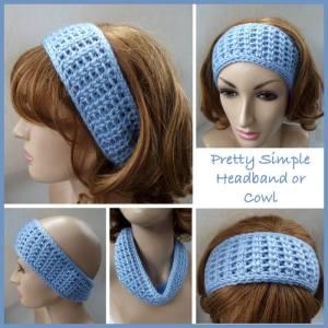 Pretty Simple Headband n Cowl