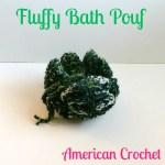 Fluffy Bath Pouf