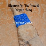 Blossom In The Round Napkin Ring