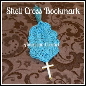 Shell Cross Bookmark