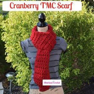 Cranberry TMC Scarf