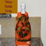 Autumn Wine Bottle Cozy