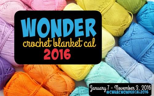 Wonder Crochet Blanket 2016 CAL | American Crochet