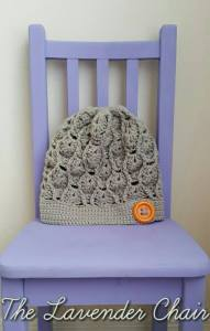 Wheat Fields Slouchy Beanie layout - Free Crochet Pattern - The Lavender Chair