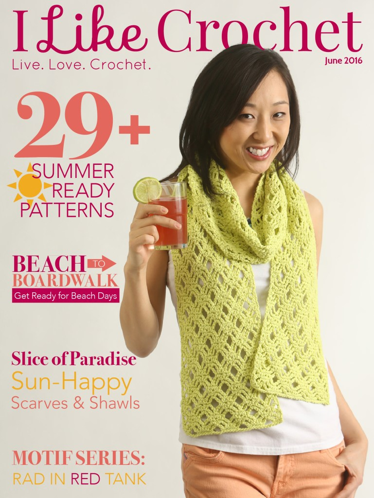 Like Crochet Magazine ~ June 2016 Issue - American Crochet
