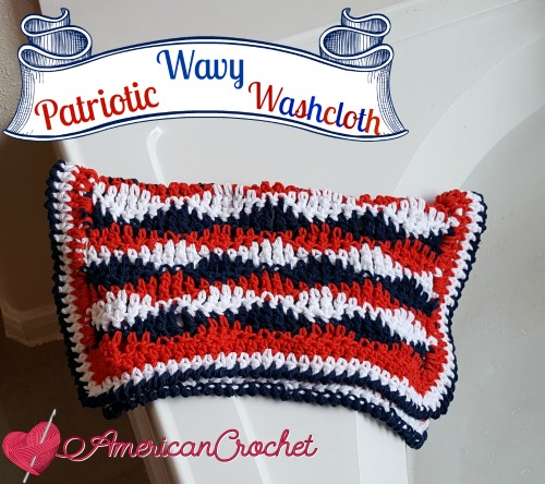Patriotic Wavy Cloth