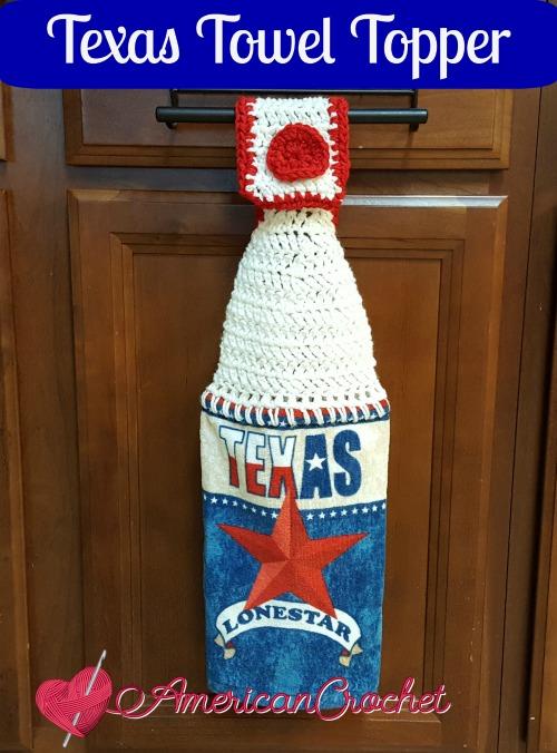 Texas Towel Topper