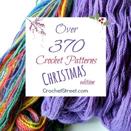 Over 370 Christmas Crochet Patterns