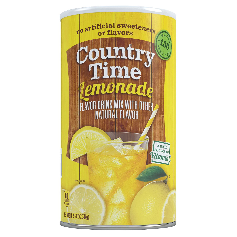 Diverting Country Time Lemonade Makes Quarts Lemonade Powder Mix Country Time Lemonade Mix Country Time Lemonade Recipe Country Time Lemonade Pie nice food Country Time Lemonade