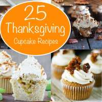 Thanksgiving Dessert Cupcake Round Up