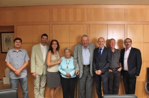 A Nobel díjas Oláh György Professzor baráti találkozója Kálmán László főkonzullal