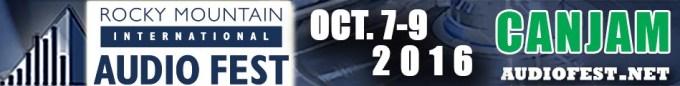 Rocky Mountain Audio Fest Banner