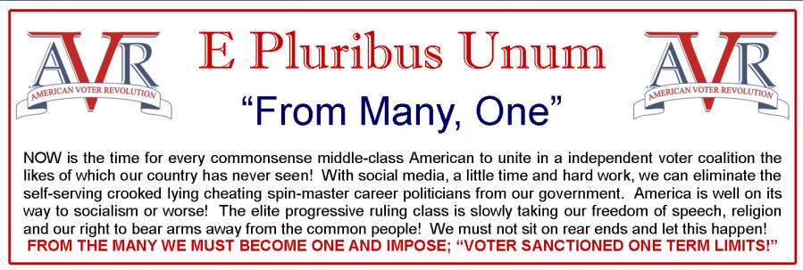 AVR - E Pluribus Unum