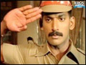 Vishal confronts corrupt politician – Satyam