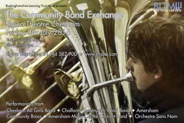 The Community Band Exchange Poster
