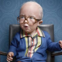 They Grow Up So Fast! Kids Look Hilariously Perfect Dressed As Old Farts