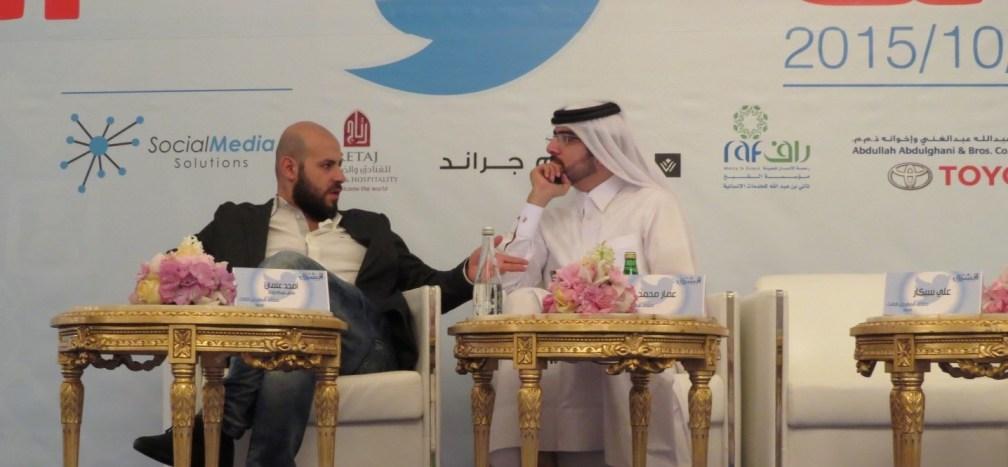 امجد عثمان ملتقى المغردين تويتر