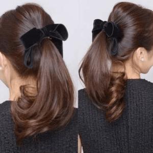 お葬式の髪型(女性)画像 ロング 4