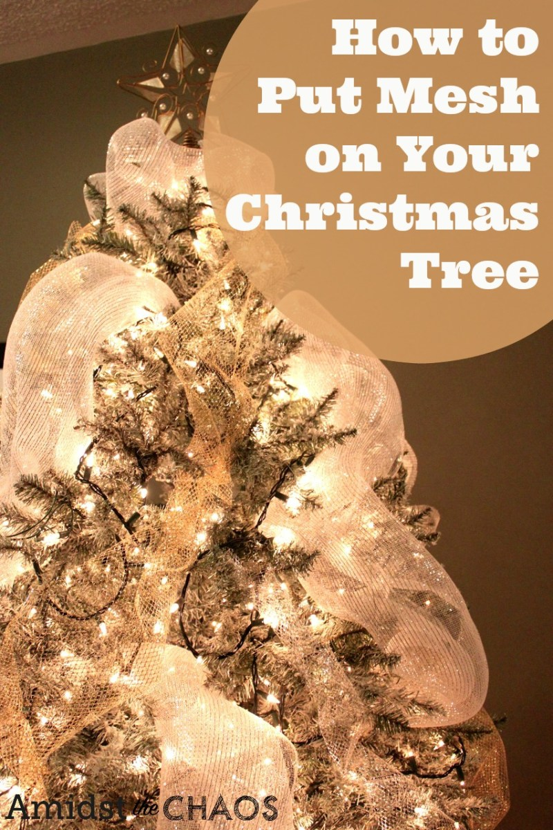 Large Of How To Decorate A Christmas Tree With Ribbon