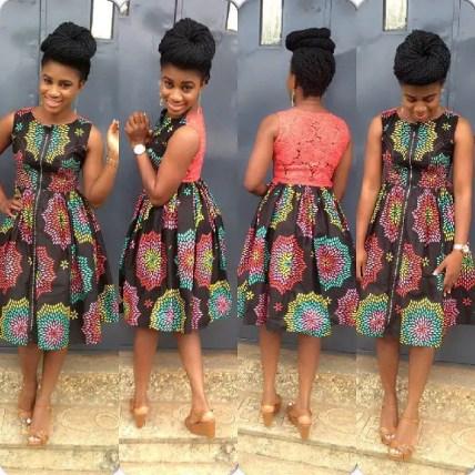 aso ebi ankara styles short gowns-amillionstyles