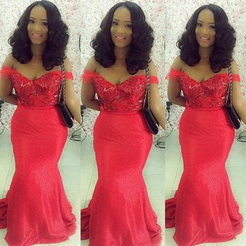 colorful asoebi in lace amillionstyles