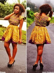 Amazing Ankara Short Gowns - AmillionStyles7
