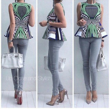 Amazing Ways To Wear Ankara Top Dresses & Look Fab
