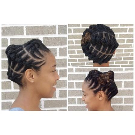 Amazing Hairstyles Natural Braid @deearrington