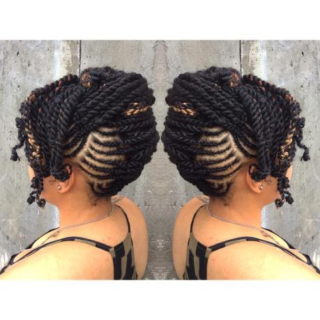 Amazing Hairstyles Natural Braid With Extention @codiejovan