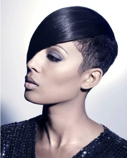 Amazing Hairstyles Side Fringe