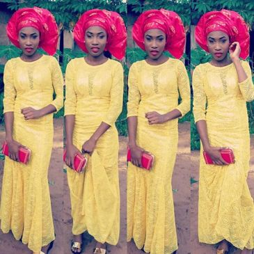 latest aso ebi styles in amillionstyles @flashy_ticia