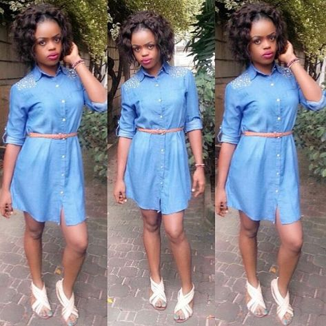 10 Awesome Females Rocking Denim Outfits. @cuteequeenbaby