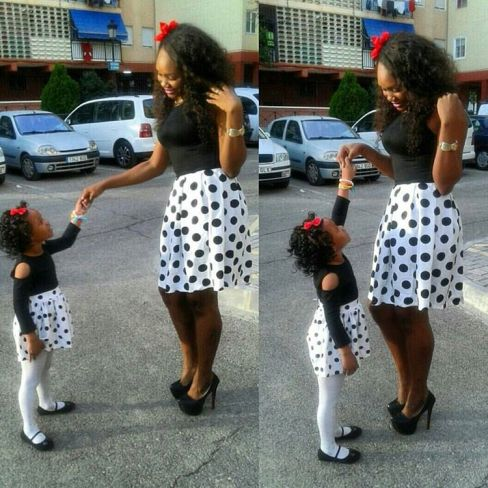 mother and daughter's outfit  @fashionforchurch