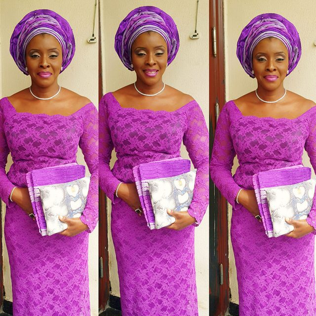 Latest Aso Ebi Styles Lace Inspired lookbook 2 mrs doherty
