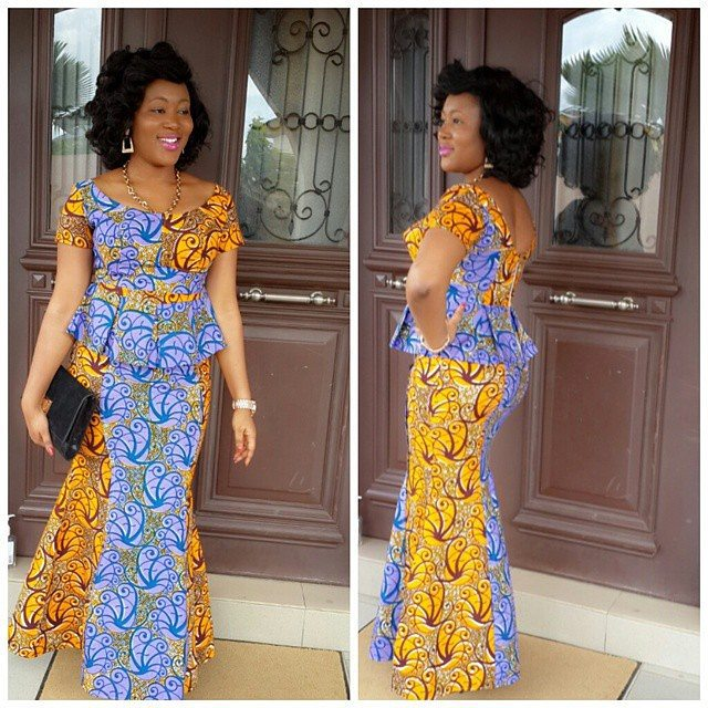 9 Amazing Nigerian Traditional Skirt and Blouse Styles ...