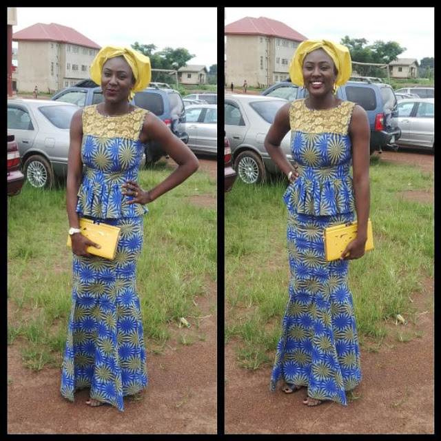 9 Amazing Nigerian Traditional Skirt And Blouse Styles