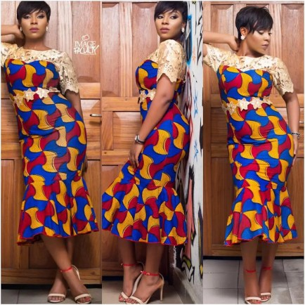 Rocking Ankara In Different Styles @therealrhonkefella