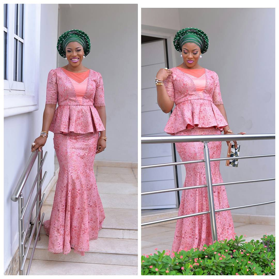 10 Hot Wedding Latest Aso Ebi Styles Amillionstyles Com