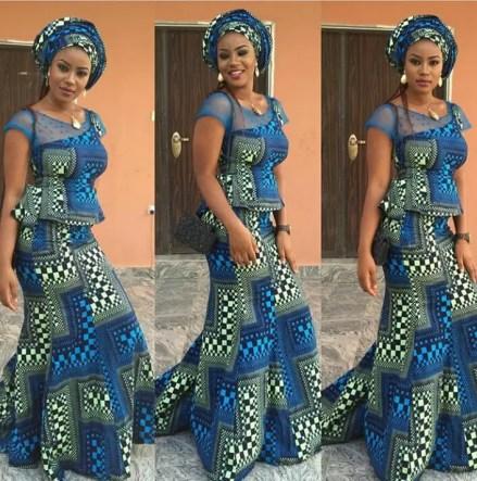 Trending Aso Ebi styles amillionstyles.com @dora_enwere