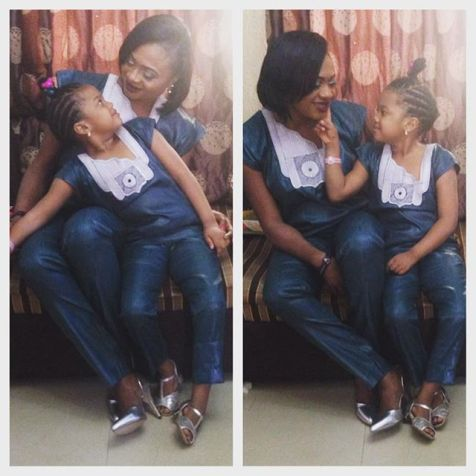 Same Outfit For Mother & Daughter amillionstyles @izere20